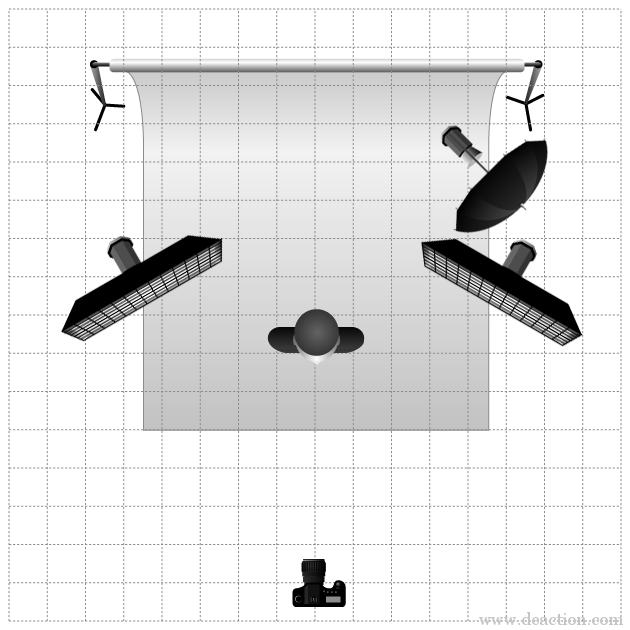 Схемы правильного освещения