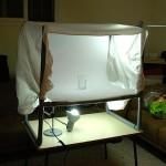 Самодельный предметный столик и лайт-куб для фотосъемки