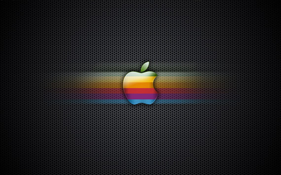 exagon-rainbow-apple-wallpaper