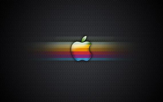 exagon-rainbow-apple-wallpaper