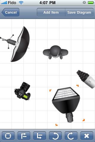 apple программа для фотографа (создания световых схем)