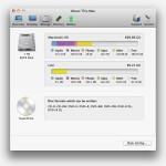 Как определить, куда пропадает место на диске в OS X